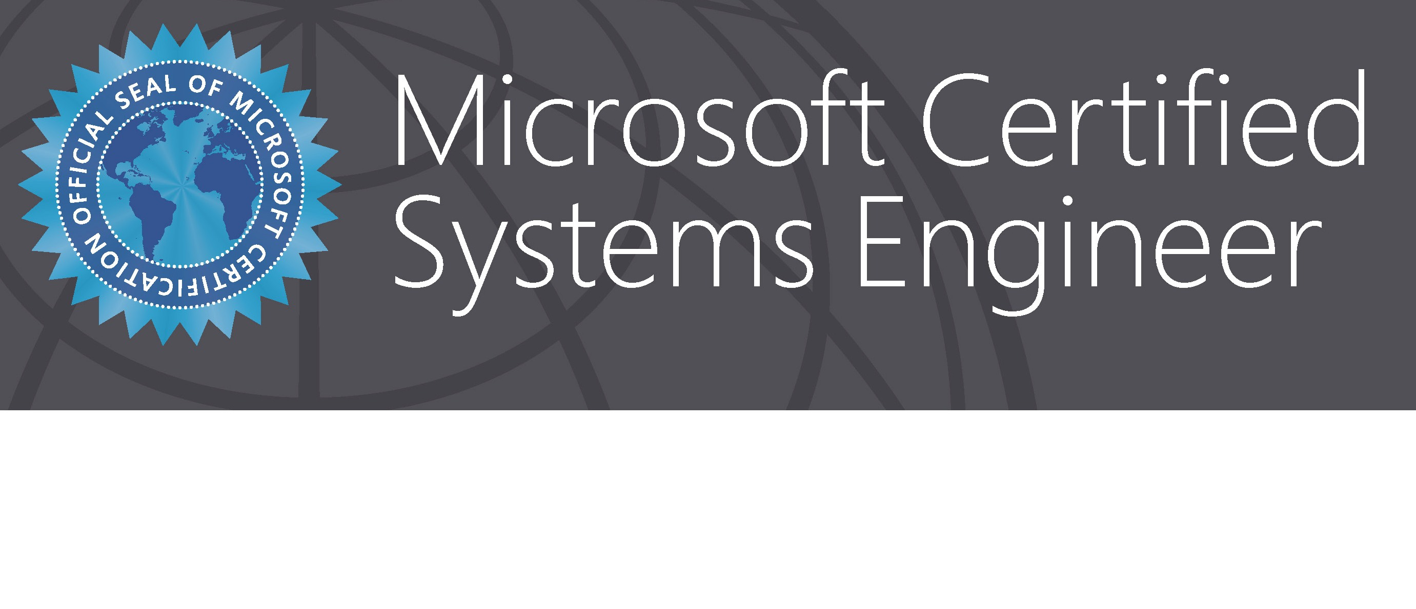 Microsoft Certified Systems Engineer Certification Gallery